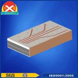 내밀린 알루미늄 단면도 열 싱크는 구리 관 열파이프 열 싱크를 추가할 수 있다