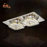 Cristal moderno do candelabro luxuoso da iluminação para a casa