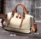 Brown-Grifftote-Schulter-Beutel-Form PU-lederne Handtasche für Frauen Sy8523