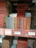 Ventana de aluminio del marco del grano de madera con el acoplamiento de la seguridad