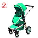 Quatro rodas reduzem carro de bebê da estabilidade da vibração o bom