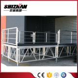 Einfach bewegliches preiswertes bewegliches Aluminiumstadium zusammenbauen