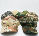 Бейсбольная кепка равнины прованского зеленого цвета /Military армии сверла хлопка