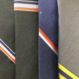 Laços de linho de seda tecidos jacquard do costume da forma da mistura para homens