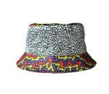 Повелительница Sun Шлем Ведро Шлем Twill хлопка с обыкновенной толком печатью (U0053)