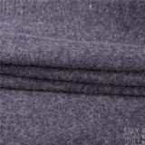 Tela de las lanas/de algodón para la capa del invierno en azul