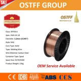 Alambre de soldadura de la alta calidad Er70s-6 1.2m m 15kg/Spool MIG