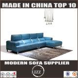 Nouveau canapé en cuir en forme de mode design en forme de L