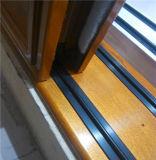 Aluminiumrahmen hölzerne Slding Tür-Aluminium-Tür