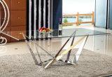 Juego de muebles de mesa de comedor de sala de estar de diseño nuevo