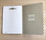 Cuaderno modificado para requisitos particulares Softcover de la impresión en offset para la fuente de oficina