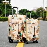 """キャンバスのスーツケースのトロリー箱20 """" /22の"""" /24の"""" /26の""""足車パスワード荷物のスーツケース"""