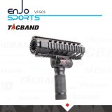 Vertikale Vorderaluminiumtaschenlampe u. Laser Vfg03 des griff-W/LED