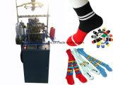 Machine à tricoter de chaussettes de filé de clavette