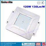 Indicatore luminoso del baldacchino della fabbrica 130lm/W 120W LED della Cina Shenzhen per la stazione di servizio della stazione di servizio