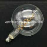 2017 nouvelle ampoule ambre du filament DEL en verre Bt180 des tailles importantes Bt120 de produit