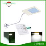 極めて薄い庭ランプの太陽センサーのウォールストリート屋外のライト12 LEDは防水する