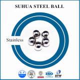 Bola de acero inoxidable inoxidable del material 2m m del acero