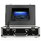 """7 """" TFT LCDのモニタ50mケーブルは360度水中カメラの魚のファインダーを回す"""