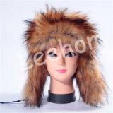 Шлемы ватки зимы плюша с Earflaps