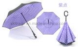 23 بوصات [بورتبل] طليق يد مستقيمة عكسيّة يعكس مظلة