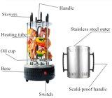 Grade &Electric de giro elétrica do BBQ do assado do aço inoxidável