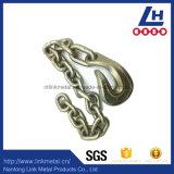 삼각형 반지를 가진 G80 링크 사슬