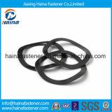 Arruela chapeada da onda do aço de carbono DIN137 zinco preto