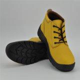 Het gele Leer Chili verkiest de Schoenen Ufb056 van de Veiligheid van de Voering van het Leer van het Varken