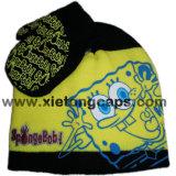 Милый шлем детей связанный Earflap и перчатка (JRK091)