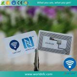 Autoadesivo di carta poco costoso su ordinazione di ISO14443A Ntag216 RFID NFC