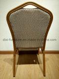 Cadeira de empilhamento luxuosa do casamento do metal do projeto novo