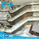 Kundenspezifisches einzelnes festes Wand-Aluminiumfassadenelement für Ecken des Gebäudes