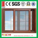 окно толщины 1.5mm алюминиевое сползая для спальни
