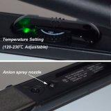 Straightener ajustável do cabelo do revestimento cerâmico da temperatura