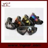 De transparante Beschermende brillen van de Ski van de Beschermende brillen van X400 van de Beschermende brillen van Paintball van de Kleur