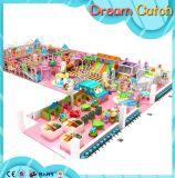 Произведенный изготовлением замок крытой спортивной площадки капризный для детей
