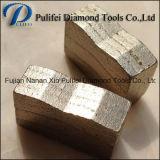 Segmento solido del diamante di segmento del granito di taglio di strato del panino per quarzo