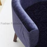 호화스러운 디자인 나른하은 우단 거실 의자