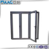 Casement типа Eurepean алюминиевый/французские двери с двойным стеклом
