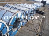 Colorer la bobine en acier galvanisée enduite d'une première couche de peinture enduite de plaques en acier