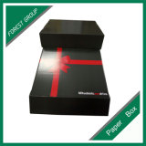 Impresión roja de la cinta Caja de cartón Ppaer