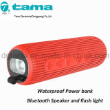 힘 은행 Bluetooth 방수 스피커 및 섬광 빛