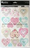 Primeros del arte de papel de la Hoja-Impresión de Exiqusite