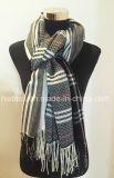 編まれたアクリルのストール/毛布/スカーフ(HWBA609)の2017新しいコレクション