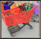 Reine Plastikeinkaufen-Laufkatze 130liters Mjy-CPP130