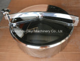 Serbatoio circolare igienico Manway dell'acciaio inossidabile Ss304