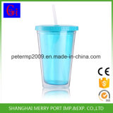 BPA освобождают бутылку воды стены 500ml 18oz пластичную двойную