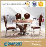 Neuer Entwurfs-runde Speisetisch-Marmorspitzenmöbel