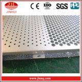 L'alluminio/d'acciaio saldati/ha perforato la rete metallica per la parete divisoria